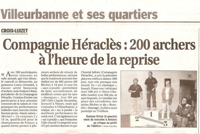 08-12-2009 Le Progres - Concours salle