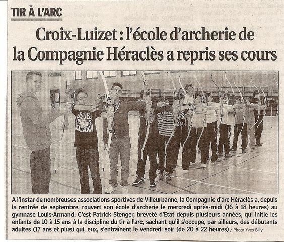 22-10-2010 Le Progres - Rentrée 2010-2011