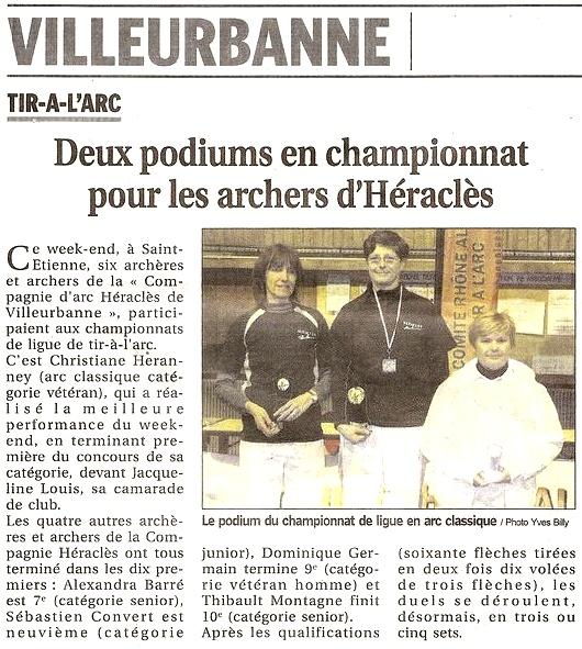 23-02-2011 Le Progres - Championat de Ligue Salle