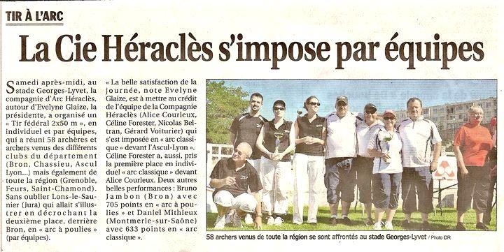27-06-2011 Le Progres - Concours fédéral