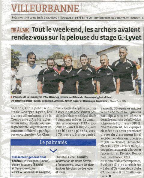 20-06-2013 Le Progres - Concours exterieur