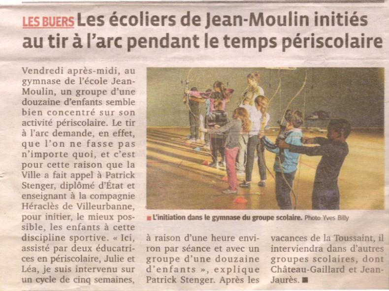 20-10-2014 Le Progres - Periscolaire